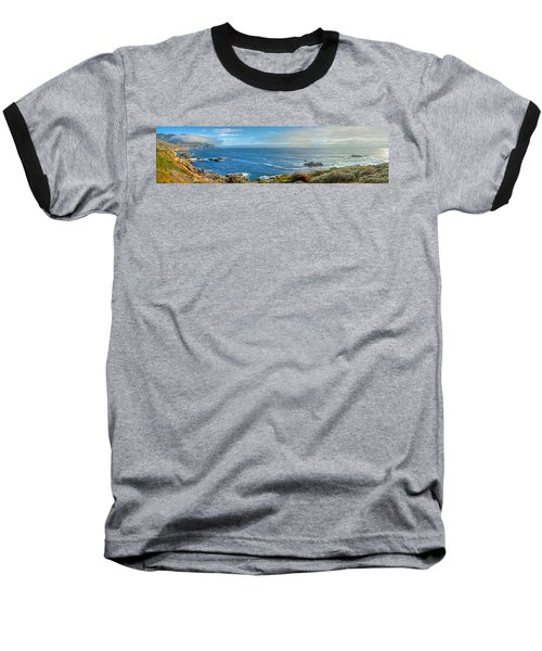 Big Sur Coast Pano 2 Baseball T-Shirt