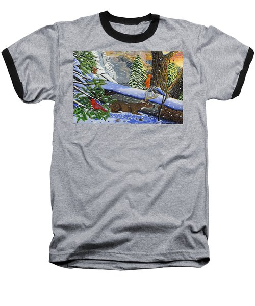 Big Timber Buck Baseball T-Shirt