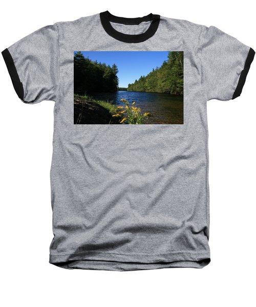 Bigelow Hollow  Baseball T-Shirt by Neal Eslinger