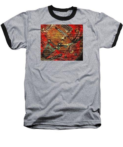 Bigsby Faux Mural Baseball T-Shirt