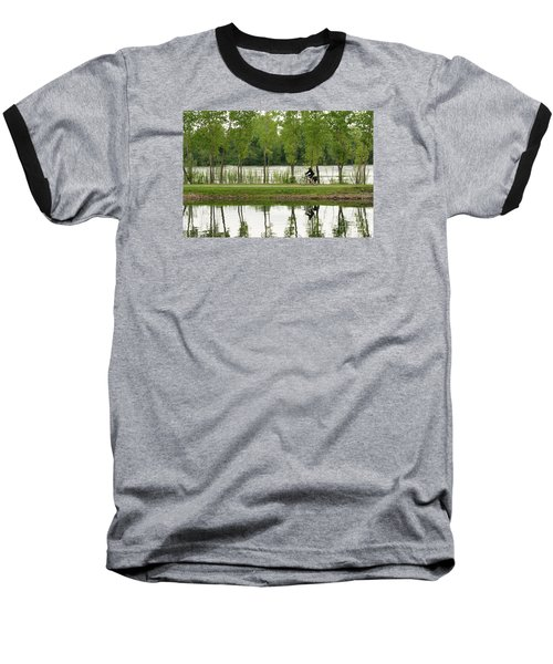 Bike Path Baseball T-Shirt