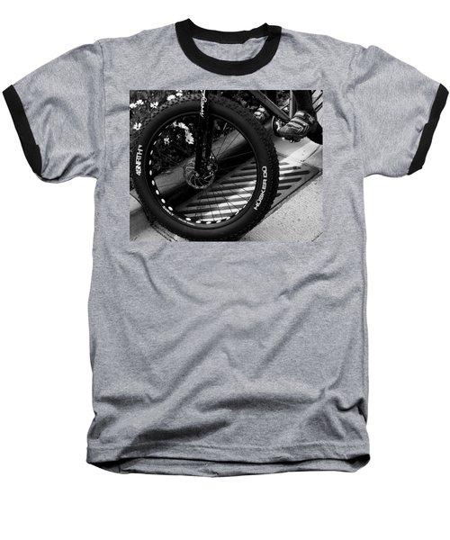 Bike Tire Baseball T-Shirt