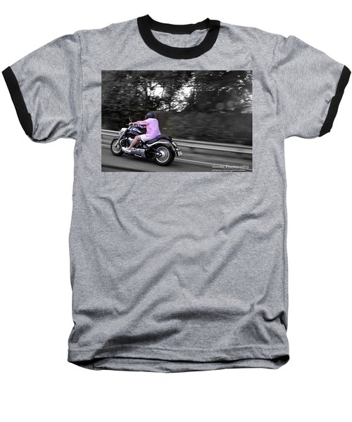 Biker Baseball T-Shirt