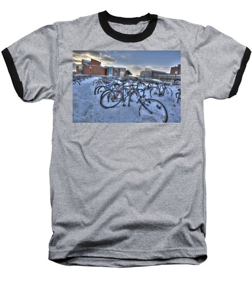 Bikes At University Of Minnesota  Baseball T-Shirt