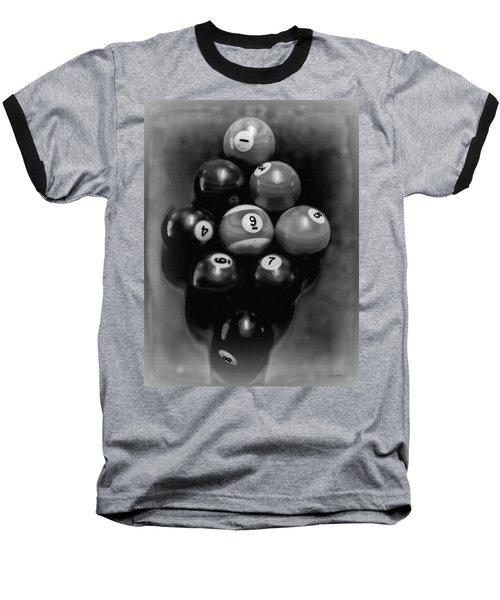 Billiards Art - Your Break - Bw  Baseball T-Shirt