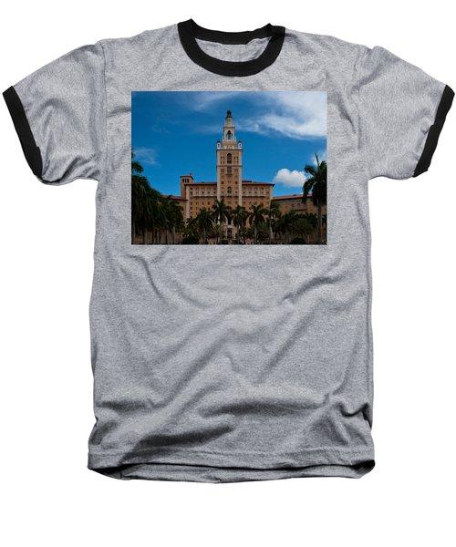 Biltmore Hotel Coral Gables Baseball T-Shirt