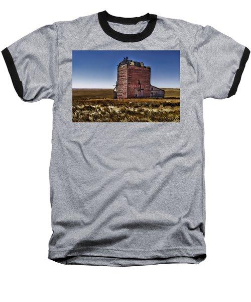 Baseball T-Shirt featuring the painting Bingo Grain Co by Muhie Kanawati