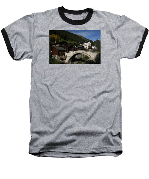 Binn Baseball T-Shirt by Travel Pics