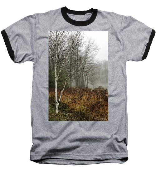Birch In Winter Baseball T-Shirt