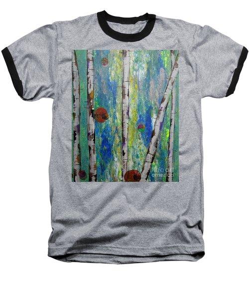 Birch - Lt. Green 4 Baseball T-Shirt