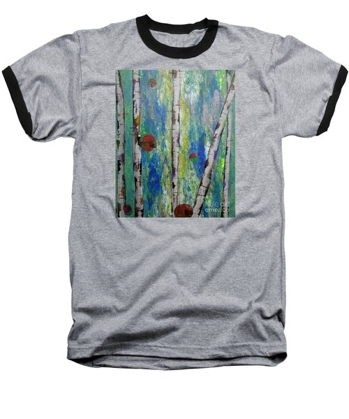 Birch - Lt. Green 4 Baseball T-Shirt