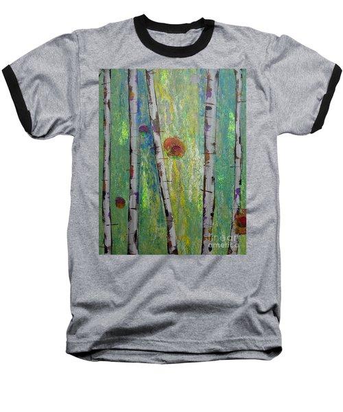 Birch - Lt. Green 5 Baseball T-Shirt