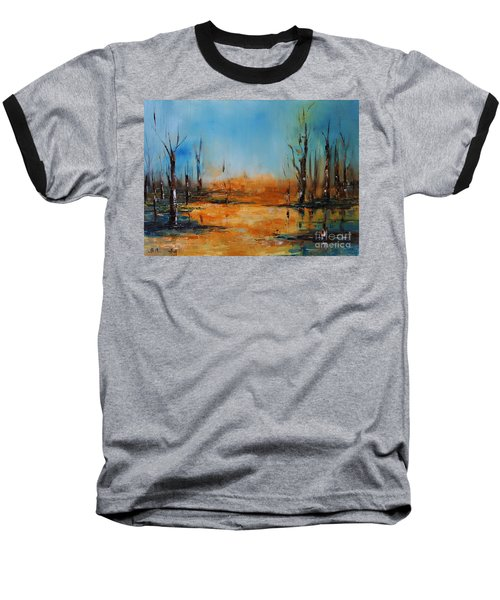 Birches Pond Baseball T-Shirt