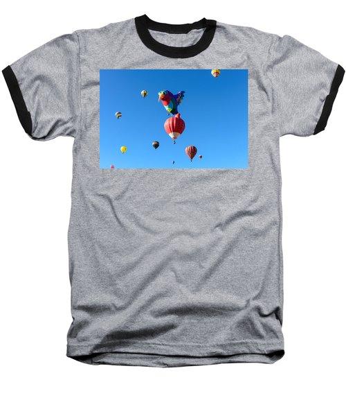 Bird Balloon Baseball T-Shirt