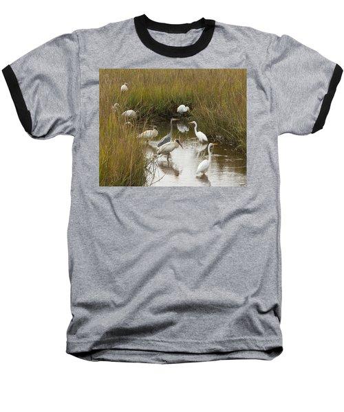 Bird Brunch Baseball T-Shirt