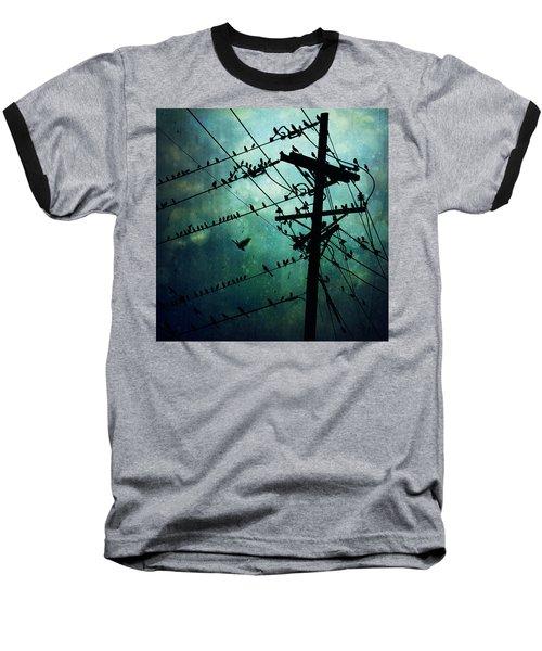 Bird City Baseball T-Shirt by Trish Mistric