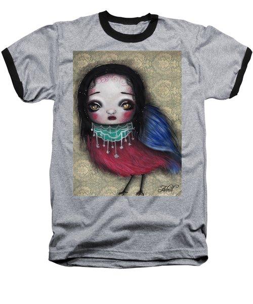 Bird Girl #2 Baseball T-Shirt
