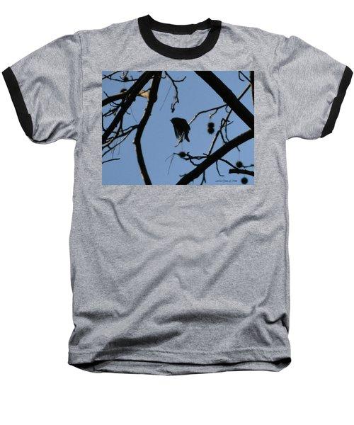Baseball T-Shirt featuring the photograph Bird In Flight by Tara Potts