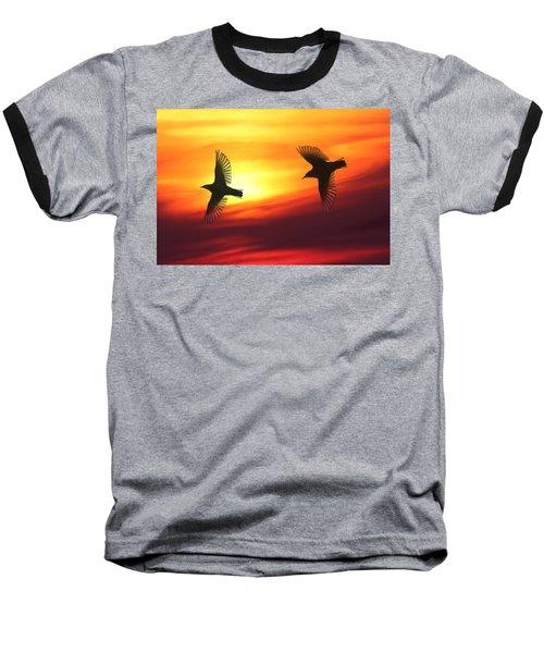Bird Lovers Baseball T-Shirt