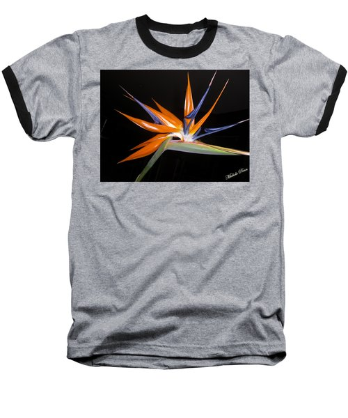 Bird Of Paradise Beauty 4 Baseball T-Shirt