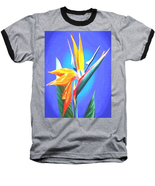Bird Of Paradise Flower Baseball T-Shirt