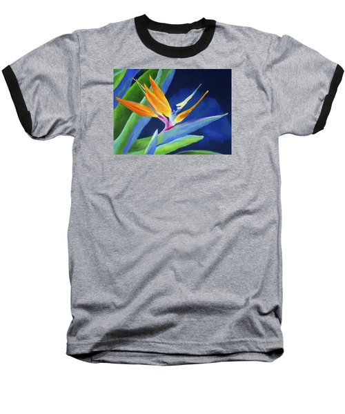 Bird Of Paradise Baseball T-Shirt by Stephen Anderson