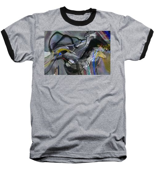Baseball T-Shirt featuring the digital art Bird That Wept With Me by Richard Thomas