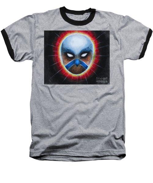 Bird Totem Mask Baseball T-Shirt