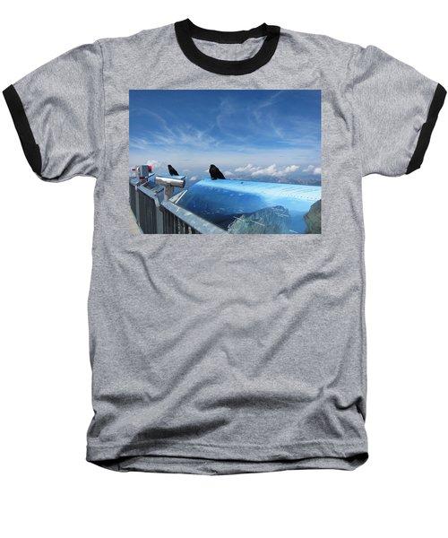 Baseball T-Shirt featuring the photograph Bird Watch by Pema Hou