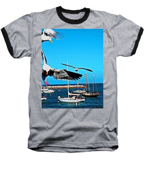 Birds In Paradise Baseball T-Shirt