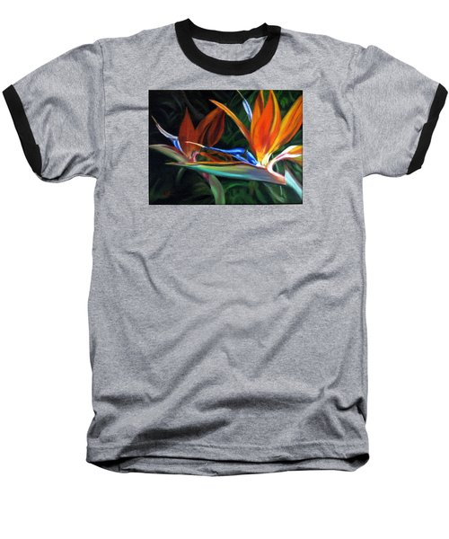 Birds Of Paradise Baseball T-Shirt