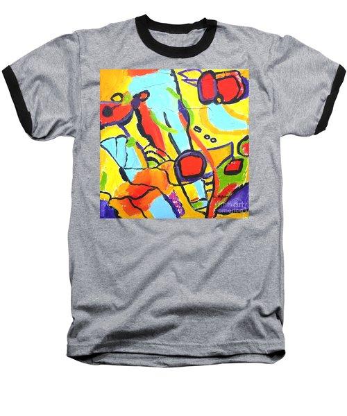 Birds On A Wire Baseball T-Shirt