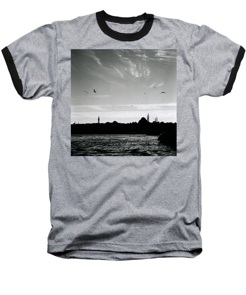 Birds Over The Golden Horn Baseball T-Shirt by Shaun Higson