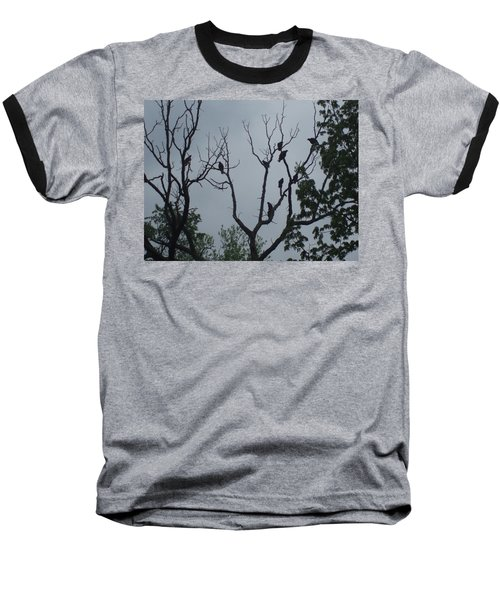 Baseball T-Shirt featuring the photograph Birds by Fortunate Findings Shirley Dickerson