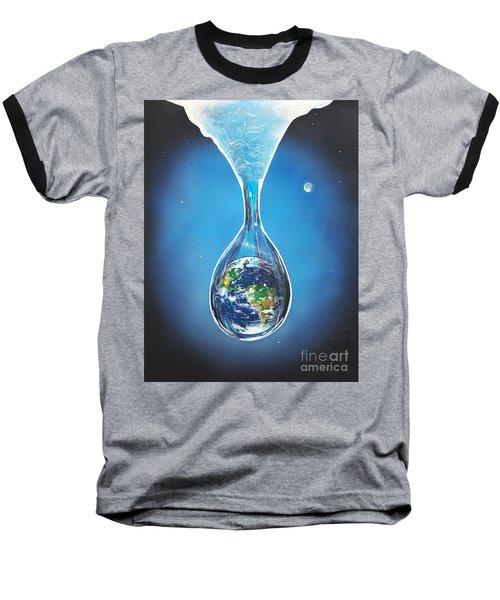 Birth Of Earth Baseball T-Shirt