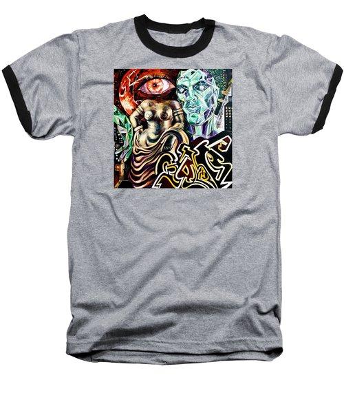Birth Of Venus Baseball T-Shirt by Yelena Tylkina