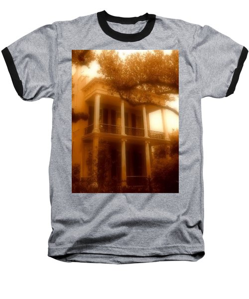 Birthplace Of A Vampire In New Orleans, Louisiana Baseball T-Shirt by Michael Hoard
