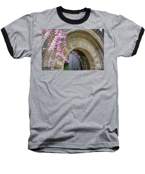 Baseball T-Shirt featuring the photograph Bishop's Gate by John S