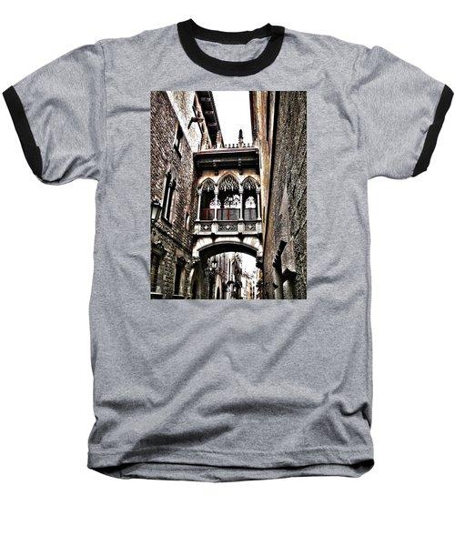Bishop's Street - Barcelona Baseball T-Shirt