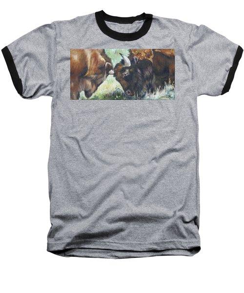 Bison Brawl Baseball T-Shirt