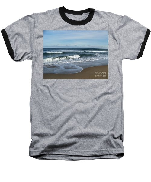 Winter Beach  Baseball T-Shirt
