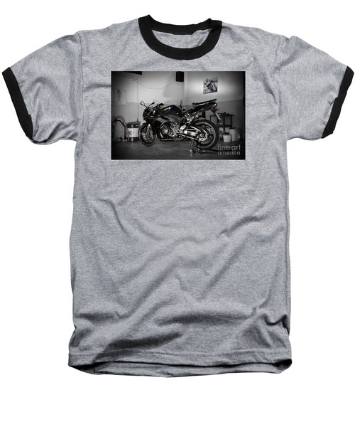 Black 2007 Honda Cbr1000rr Baseball T-Shirt