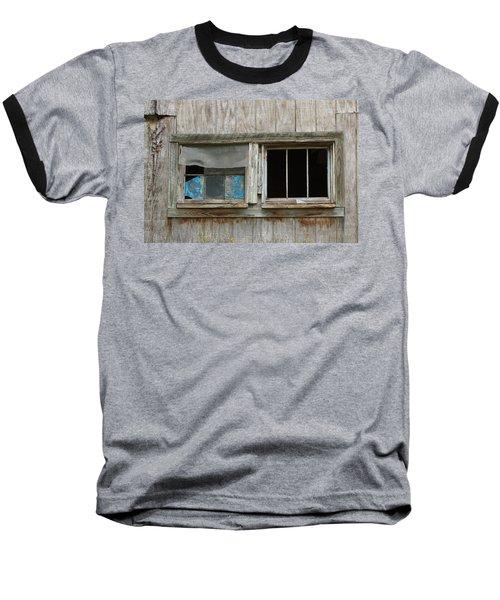 Black And Blue Baseball T-Shirt