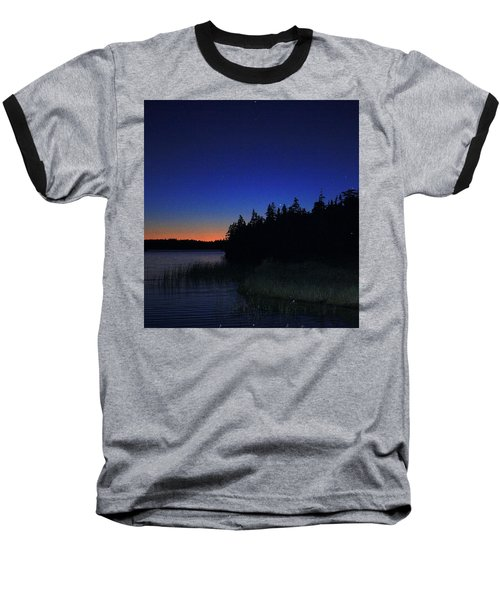 Baseball T-Shirt featuring the photograph Black And Blue Sky by Jason Lees