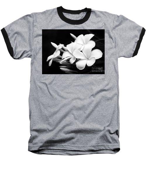Black And White Lightning Baseball T-Shirt