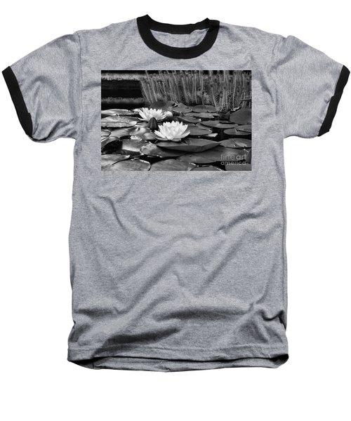 Black And White Version Baseball T-Shirt by John S