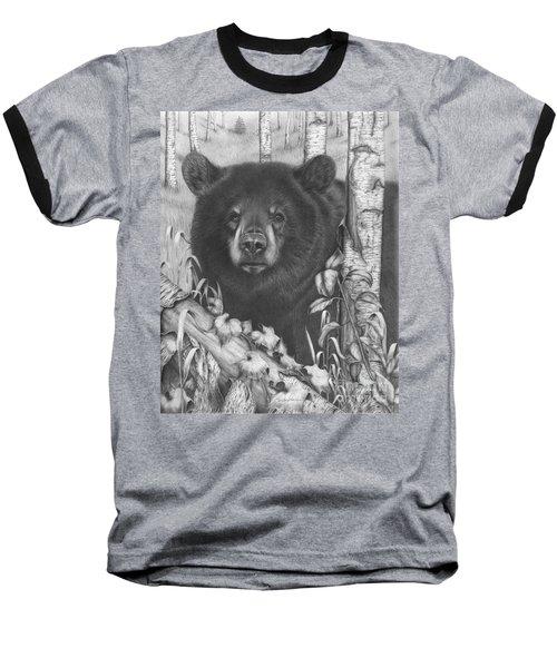 Black Bear On Newsome Creek Baseball T-Shirt