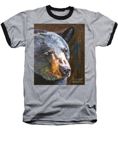Black Bear The Messenger Baseball T-Shirt