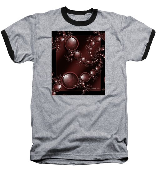 Black Cherry Baseball T-Shirt