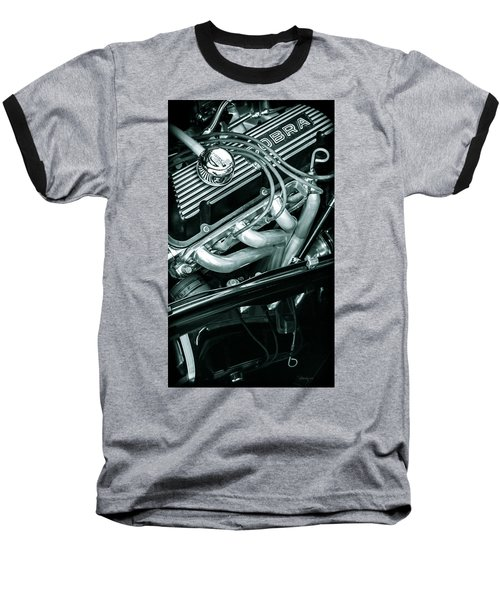 Black Cobra - Ford Cobra Engines Baseball T-Shirt